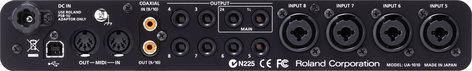Roland UA-1010 OCTA-CAPTURE 10x10 24-bit/192 kHz Hi-Speed USB Audio Interface UA1010