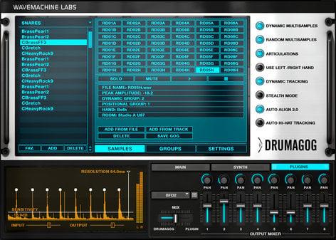 WaveMachine Labs Inc DRUMAGOG-PLATINUM-5 Drum Replacement Software (Platinum Version) DRUMAGOG-PLATINUM-5
