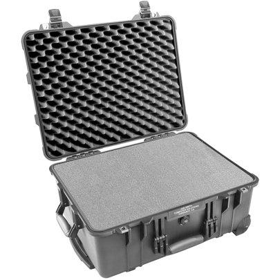 Pelican Cases 1560 Large Black Case with Pick & Pluck Foam PC1560-BLACK