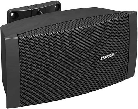Bose DS-16S-BLACK FreeSpace Surface-Mount Loudspeaker, Indoor, Multi-Tap Transformer, 70V, 16W @ 8 Ohms, Black DS-16S-BLACK