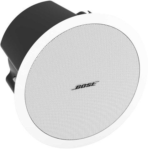 "Bose FreeSpace DS 100F FreeSpace Ceiling Loudspeaker, Multi-Tap Transformer, 5.25"", 100W @ 8 Ohms in White DS-100F-WHITE"