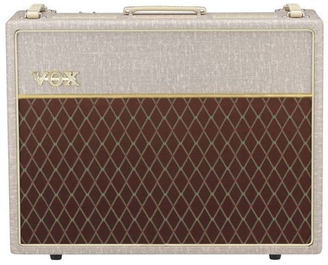 """Vox Amplification AC30 Hand-Wired 30W 2x12"""" Tube Guitar Combo Amplifier with Celestion Alnico Blue Speakers AC30HW2X"""