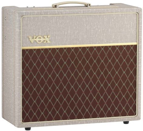 """Vox Amplification AC15 Hand-Wired 15W 1x12"""" Tube Guitar Combo Amplifier with Celestion Alnico Blue Speaker AC15HW1X"""