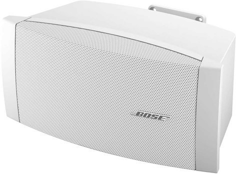 """Bose DS 100SE FreeSpace Indoor/Outdoor Commercial Loudspeaker, Multi-Tap Transformer, 5.25"""", 100W @ 8 Ohms, White DS-100SE-WHITE"""