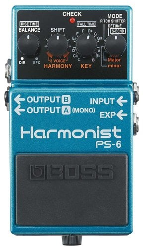 Boss PS6 Harmonist Pitch Effects Guitar Pedal PS6-BOSS