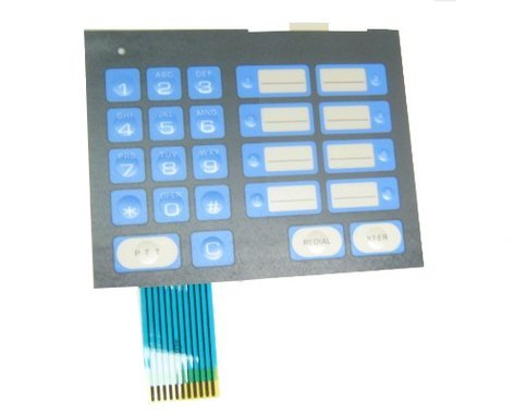TOA 115-511-8240 TOA Master Station Keypad Assembly 115-511-8240