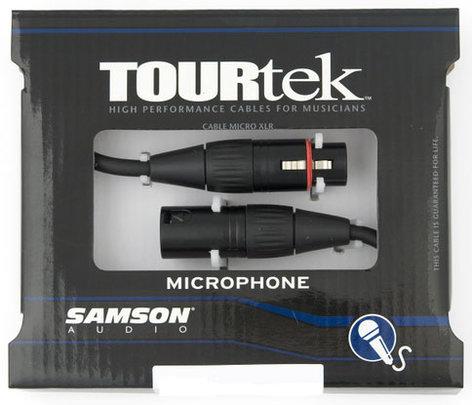 Samson TM3-SAMSON TourTek Mic Cable 3 ft TM3-SAMSON