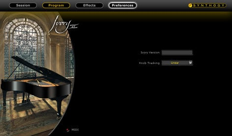 Synthogy Ivory II Grand Piano Piano Collection Virtual Instrument Software IVORY2-GRAND-PIANO