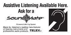 Telex SM-WP Soundmate Wall Plaque SM-WP