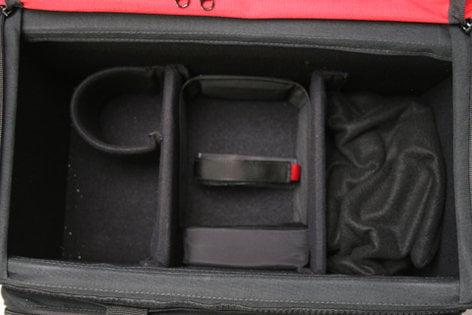 Porta-Brace DCO-2R  DSLR Organizer (Black, Red) DCO-2R