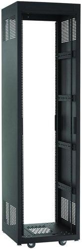 """Chief Manufacturing NE1F4428  44 RU E1 Series Rack (28"""" D, Black) NE1F4428"""