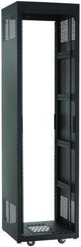 "Chief Manufacturing NE1F4423  44 RU E1 Series Rack (23"" D, Black) NE1F4423"