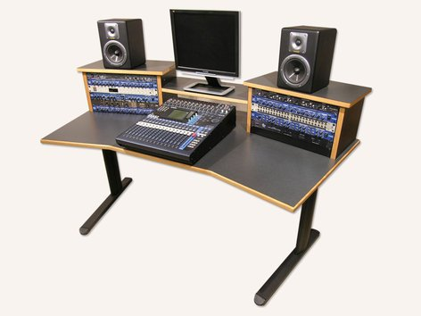 Verwonderend Sound Construction DS-HS/W DigiStation Home Studio Desk | Full RR-29