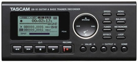 Tascam GB-10  Trainer/Rec Guitar & Bass  GB-10