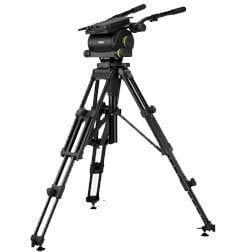 Vinten 3902-3 Heavy Duty HDT2 tripod with mid-level spreader. 3902-3
