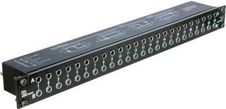 "Neutrik NYS-SPP-L1  48-Point 1/4"" Jack Patch Panel NYS-SPP-L1"