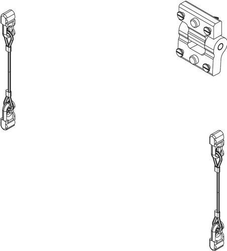 Nexo ALT-XKIT  Crossbow Speaker to Speaker Connection Kit ALT-XKIT