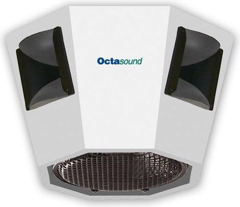 "Octasound SP820A Central Speaker System: 12"" Woofer, 4x 6""x6"" Compression Horn/Drivers SP820A"