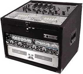 Odyssey CXC904  9RU Top, 4 Vertical RU Combo Rack CXC904