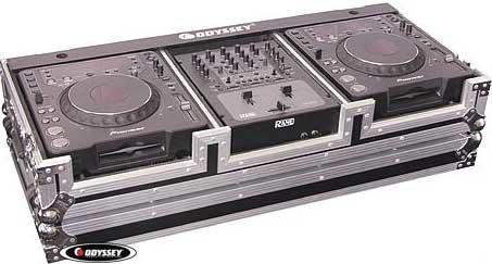 Odyssey FZ10CDJW  DJ Coffin Case with Wheels FZ10CDJW