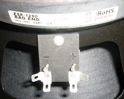 Bag End SE-1280 Bag End Woofer SE-1280