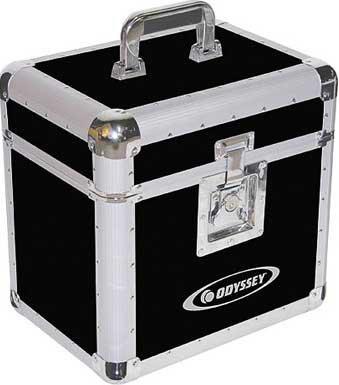Odyssey KLP1BLK  Black LP Case (holds up to 70) KLP1BLK