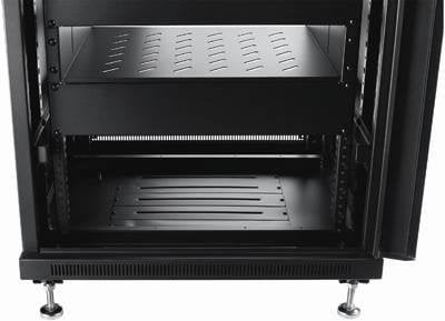 Omnimount RE27 27 RU Enclosed Rack (Black) RE27