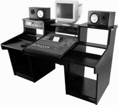 Omnirax MXO2R MixStation/O2R Console Table (for Original Yamaha O2R Mixing Console) MXO2R