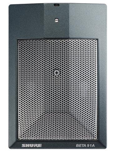 Shure Beta 91A Half Cardioid Condenser Kick Drum Microphone BETA91A