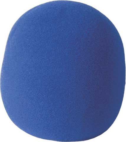 On-Stage Stands ASWS58-BL Blue Foam Windscreen ASWS58-BL