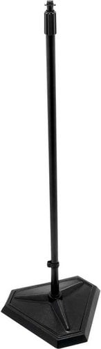 """On-Stage Stands MS7625B 33""""-61"""" H Adjustable Microphone Stand with 1/4-Turn Threadless Hex-Base MS7625B"""