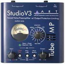 ART Tube MP Studio V3 Tube Microphone Preamp TUBE-MP-STUDIO-V3
