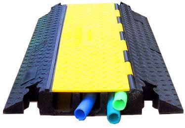 TecNec YJ3-225  Yellow Jacket 3 Channel Cable Protector YJ3-225