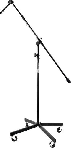 """On-Stage Stands SB96+ 43""""-79"""" Studio Microphone Stand with Telescoping Boom and Casters SB96+"""