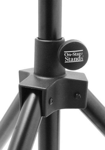"""On-Stage Stands SS7730 44""""-80"""" H Aluminum/Steel Speaker Stand (160 lb Weight Capacity) SS7730"""