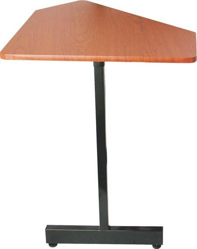 On-Stage Stands WSC7500RB 45 Degree Angled Corner Desk Extension (Rosewood & Black Steel Finishes, for use with WS7500RB) WSC7500RB
