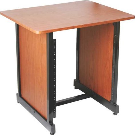 On-Stage Stands WSR7500RB 12 RU Rack Stand (Rosewood & Black Steel Finishes) WSR7500RB