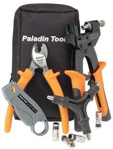 Paladin Tools 4910  SealTite Pro CATV Comp Crimp Kit 4910