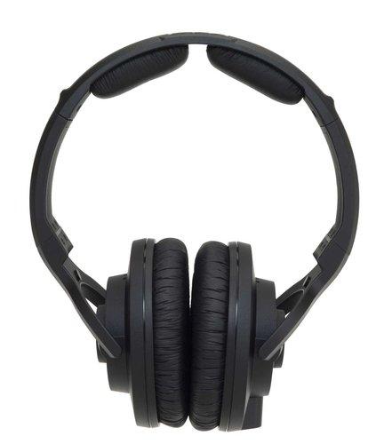 KRK KNS-6400 Headphones, Dynamic, Closed-Back, 40mm Neodymium Drivers, 10Hz-22kHz KNS6400
