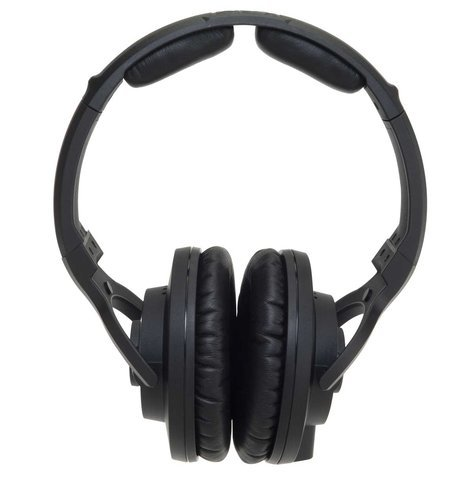 KRK KNS-8400 Headphones, dynamic, closed-back, 40mm neodymium drivers, 5Hz-23kHz KNS8400