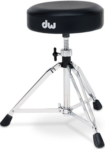 DW DWCP5100 Drum Throne, Round Top, Threaded Height Adjustment DWCP5100