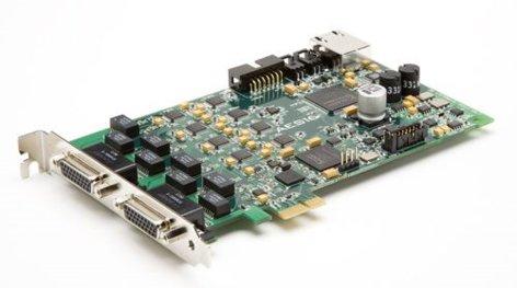Lynx Studio Technology AES16e-50 PCI Express Card with AES/EBU and AES50 I/O AES16-E-50