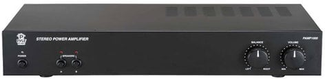 Pyle Pro PAMP1000 160W 2-Channel Bridged Power Amplifier PAMP1000
