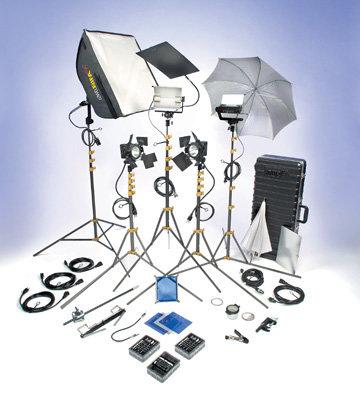 Lowel Light Mfg DVP-95 DV PRO 55 Kit w/Tota/Omni Case DVP-95