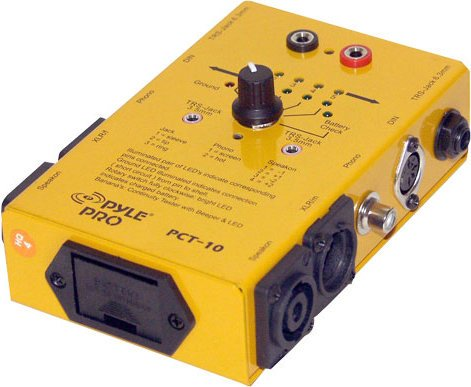 Pyle Pro PCT10 8-in-1 Pro Audio Cable Tester PCT10