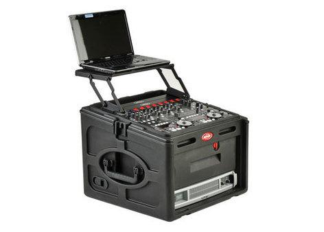 SKB 1SKB-R106 10U x 6U Roto Rack Console Case 1SKB-R106