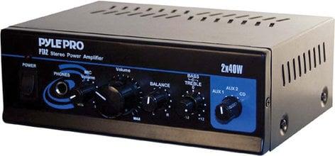 Pyle Pro PTA2 2x40W Mini Stereo Amplifier PTA2