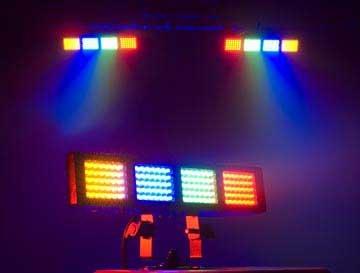 ADJ COLOR-BURST-LED LED Fixture, Four Banks COLOR-BURST-LED