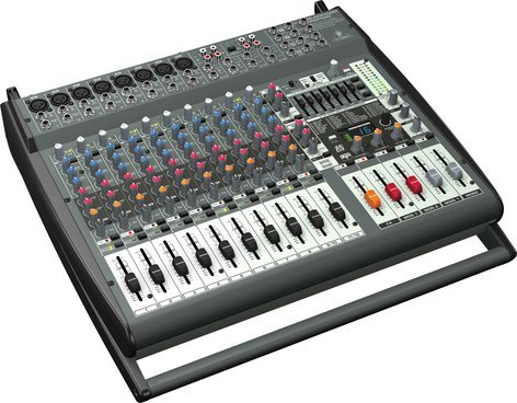 Behringer PMP4000 Powered Mixer, 16 Channel, 8 Mic Inputs, 2 x 800W Stereo PMP4000
