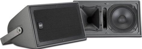 RCF P1108-T 100W RMS Indoor/Outdoor Two-Way Weatherproof Speaker with 90x60 Constant Directivity Horn P1108-T